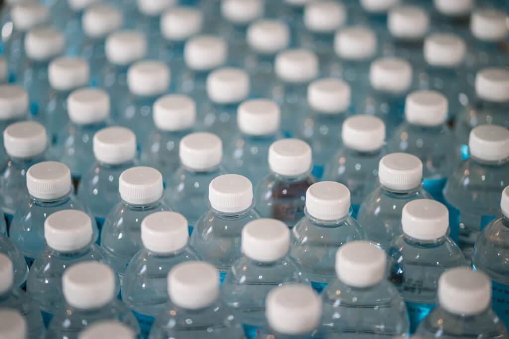 bottiglie di acqua